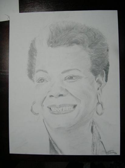 Maya Angelou by JasonRaysor